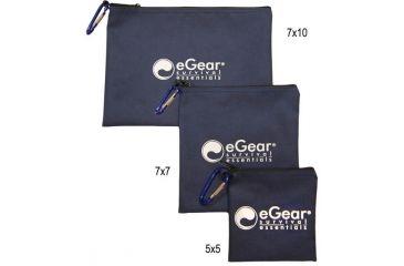 Essential Gear Essentials Bag, Large w/biner, 7 x 10 in. EG152-7X10