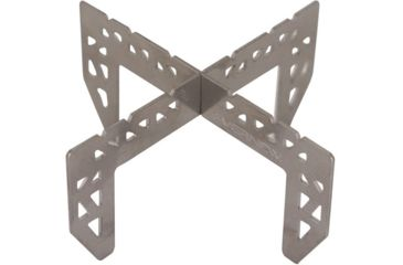 2-Evernew Titanium Alcohol Stove Cross Stand