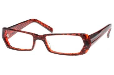 Exces 3060 Eyewear with Black-Red 33 Frame