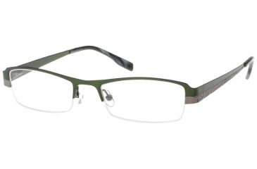 Exces 3067 Eyeglasses with 602 Navy-Brown Frame