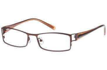 Exces 3068 Eyewear Frame, 821 Dark Brown-Cooper