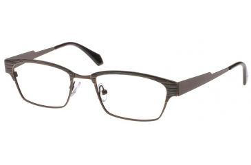 Exces 3106 Eyeglasses - Brown Frame w/ Clear Lenses,Size 52-19-140 3106-613