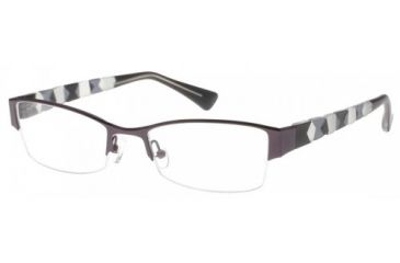 Exces 3110 Eyeglasses - Grey Frame w/ Clear Lenses,Size 52-19-140 3110-553