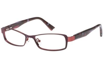Exces Womens 3092 Eyeglasses - Purple-Wine Frame w/ Clear Lenses, Size 48-15-130, 48-15-130 3092-192