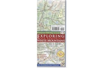 Exploring Nh White Mtns Map, Wilderness Map Company, Publisher - Wilderness Map Co