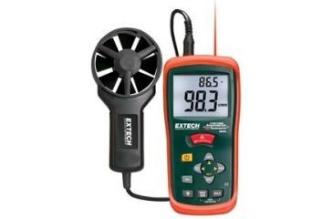Extech Instruments Meter Anemometer W/THERMOMETER AN200