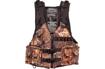 Extrasport Osprey Life Vest, XS , S Size for Adult, Ripstop Nylon, Camo 0310000179