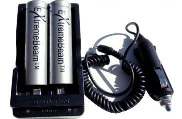 ExtremeBeam 18650 Charging Kit 2B, Black, N/A EB-XA-B57