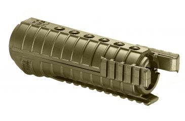 FAB Defense Ar15 Polymer Handguards With 3 Rails, Tan FGR-3 (T)