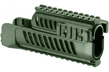 FAB Defense Vz58 Set Of Lower And Upper Handguards, Tan SA-58 (OD)