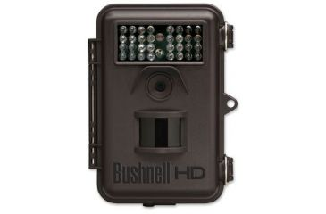 Factory DEMO Bushnell 8MP Trophy Cam HD, Brown, Flash, B&W LCD Viewer 119437C