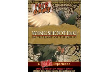 Fair Game Wingshooting in the Land of the Zulus Hunting DVD