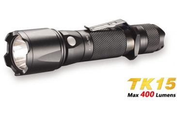 Fenix Gun Kit with LED Flashlight, Black, 400 GNKTTK15