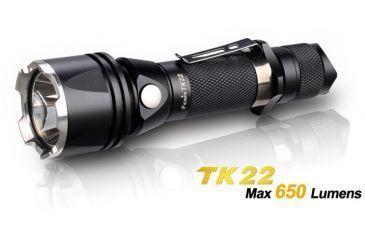 Fenix Gun Kit with LED Flashlight, Black, 650 GNKTTK22