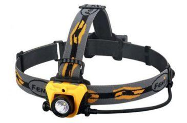Fenix HP01 CREE XP-G R5 LED Headlamp, 210 Lumens, Orange, Runs on 2x AA, without NiMH-Alkaline Batteries FENIX-HP01-XPGR5-ORANGE