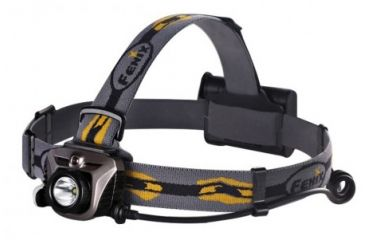 Fenix HP05 CREE XP-G R5 LED Headlamp, 350 Lumens, Grey, Runs on 3x AA, with NiMH/Alkaline Batteries FENIX-HP05-XPGR5-GREY