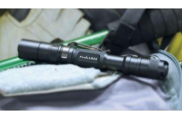 Fenix LED Flashlight with Battery, Black, 215 LD22G2BK-B