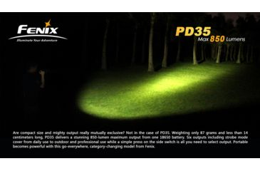 24-Fenix PD35 LED Flashlight