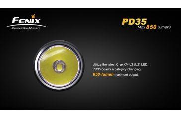 15-Fenix PD35 LED Flashlight