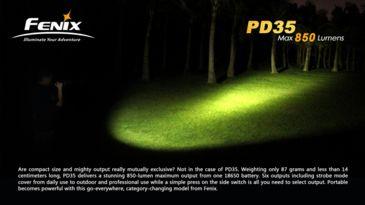 23-Fenix PD35 LED Flashlight