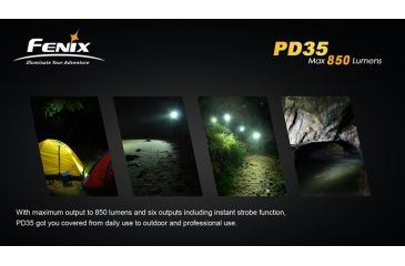 25-Fenix PD35 LED Flashlight