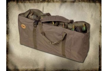 Final Approach Stands-A-Lone Decoy Bag for Full Body Green Field Duck Decoys