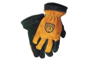 Fire-Dex Cow Palm/elk Back Leather Cuff - G03KEDDL XS