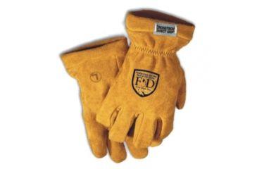 Fire-Dex Gold Elk Leather Cuff - G03CEDDL 3X