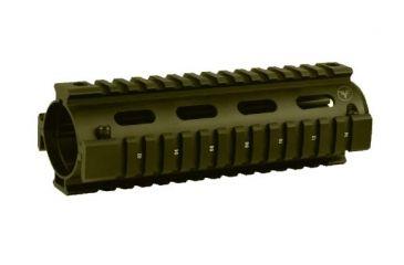 Firefield Carbine 6.7 Inch Quad Rail Olive Drab FF34001OD