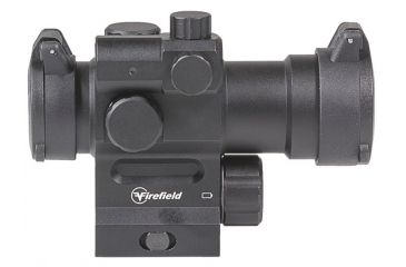 8-Firefield Impulse 1x30 Red Dot Sight with Red Laser