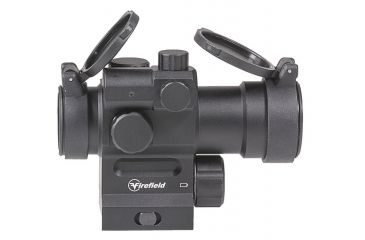 3-Firefield Impulse 1x30 Red Dot Sight with Red Laser