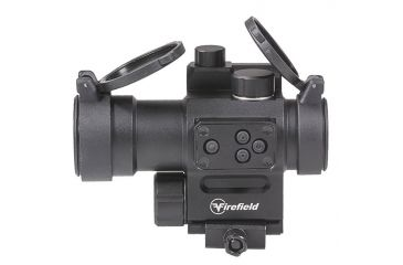 4-Firefield Impulse 1x30 Red Dot Sight with Red Laser