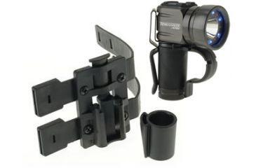 First Light Tomahawk LE 120 Lumen LED Tactical Flashlight, Black TRS Belt 999126-BELT-BK