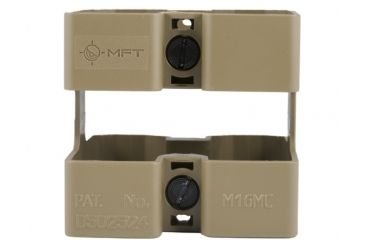 Mission First Tactical Mission First AR15/M16 Mag Coupler, Scorched Dark Earth M16MCSDE