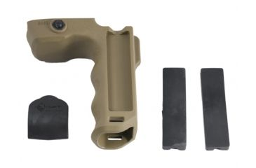 Mission First Tactical MFT React Magwell Grip -Scorched Dark Earth RMGSDE