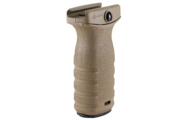 Mission First Tactical MFT React Short Vertical Grip - Scorched Dark Earth RSGSDE
