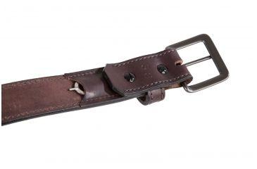 4-Flagrant Beard 1.5 in Black Stitched Shooting / Gun Belt