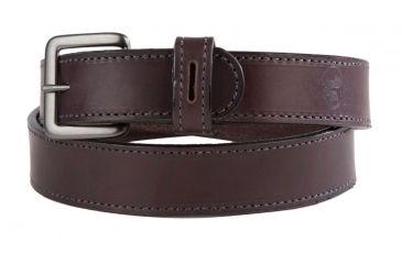 1-Flagrant Beard 1.5 in Black Stitched Shooting / Gun Belt