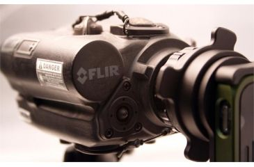 FLIR Systems Recon M18 Monocular Scope, 320 x 240 w/Red Visible Laser 000988
