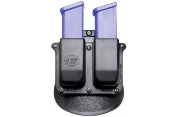 Fobus Double Magazine Pouch for Smith & Wesson M&P - for Belt. NOTE: This is a belt-mount product. The paddle-mount version is shown here.