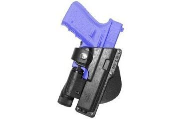 Fobus Paddle Tactical Speed Holster - Glock 17,22,31 holds Handgun with Laser or Light, Ruger 345 holds Handgun with Laser or Light GLT17