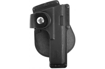 Fobus Roto Paddle Tactical Speed Holster, Black, Right Hand - Glock 17,22,31 w/ Laser or Light - GLT17RP