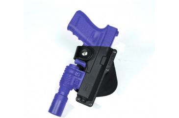 Fobus Roto Tactical Speed Holster - Glock 19, 23, 32 Roto holds Handgun with Laser or Light