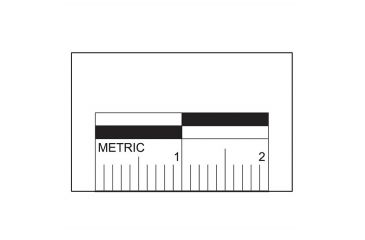 Forensics Source 2cm Scale Labels 5/8 In High - AM-20MM