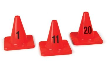 Forensics Source 6 in. Evidence Marking Cones, Numbers 11-20 8-8051