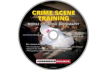 Forensics Source Crime Scene Training Module DVD- 2, Forensic Photography 1150483