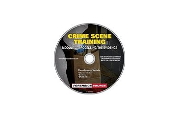 Forensics Source Crime Scene Training Module DVD- 3, Processing the Evidence 1150484