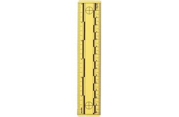 Forensics Source Vinyl Photo Scales, 6 in.,  Yellow w/Black Print, 10 Pack FS-6-3817