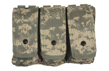 Fox Outdoor AR-15/AK-47 Triple Mag Pouch, Army Digital 099598570378