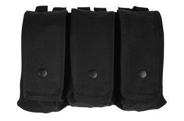 Fox Outdoor AR-15/AK-47 Triple Mag Pouch, Black 099598570316